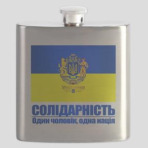 Ukraine (Solidarity) Flask