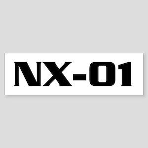 ENTERPRISE Ship Name Sticker (Bumper)