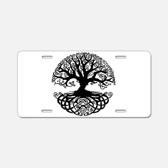 Cute Metaphysics Aluminum License Plate