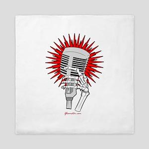 Rockabilly Microphone Queen Duvet