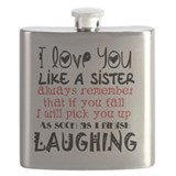 Best friend Flask Bottles