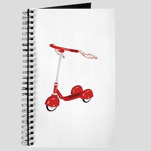 Tasseled Scooter Journal