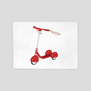 Tasseled Scooter 5'x7'Area Rug