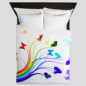 Butterflies Queen Duvet