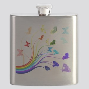 Butterflies Flask