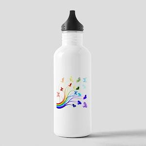 Butterflies Stainless Water Bottle 1.0L