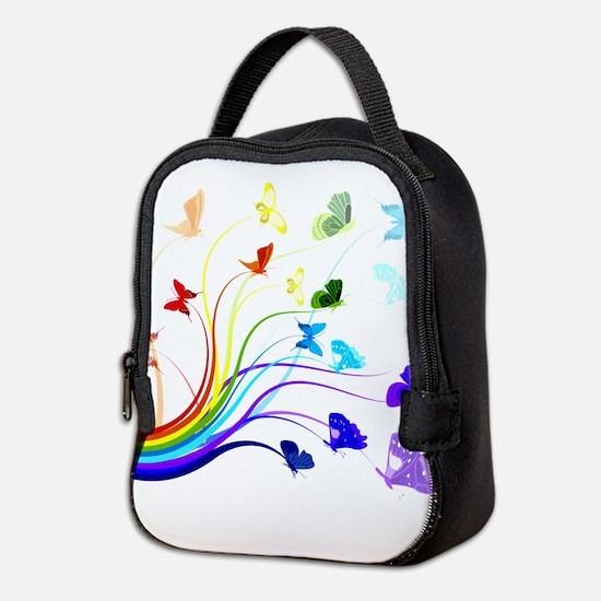Butterflies Neoprene Lunch Bag