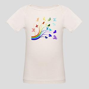 Butterflies Organic Baby T-Shirt
