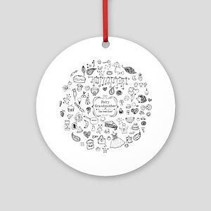 Fairy Grandmother Ornament (Round)