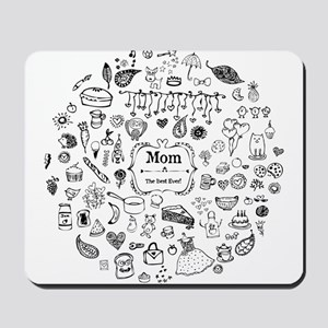 Best Mom in the World Mousepad