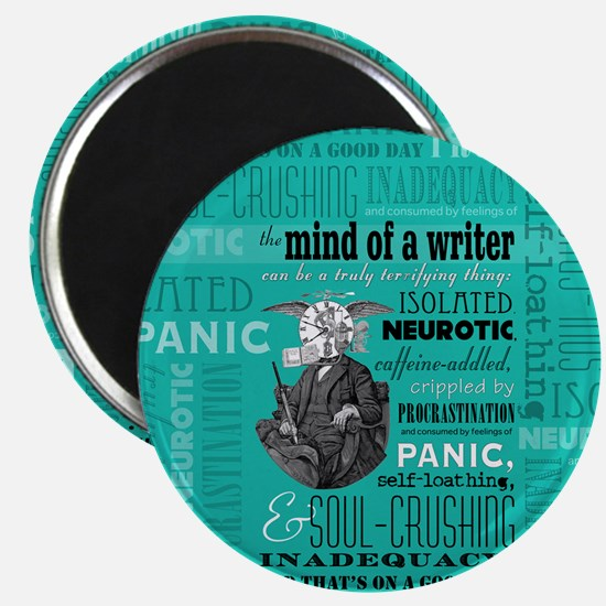 The Mind Of A Writer Magnet