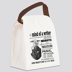The Mind of a Writer Canvas Lunch Bag