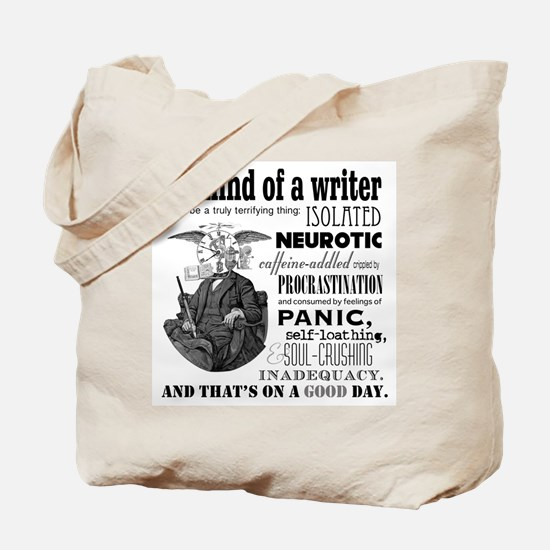 The Mind of a Writer Tote Bag
