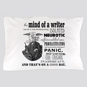 The Mind Of A Writer Pillow Case