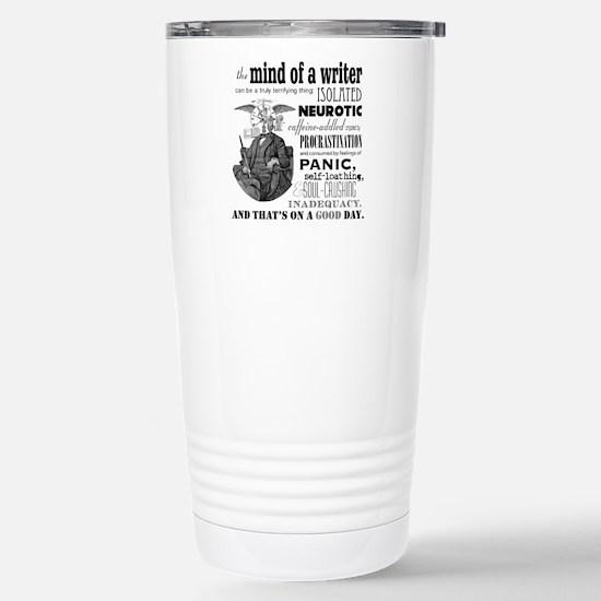 The Mind of a Writer Travel Mug