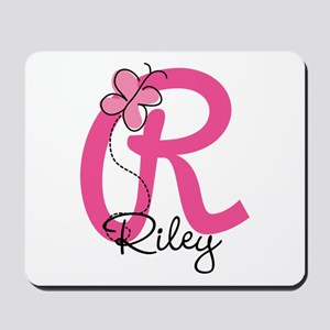 Personalized Monogram Letter R Mousepad