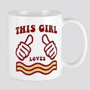 This Girl Loves Bacon Mugs