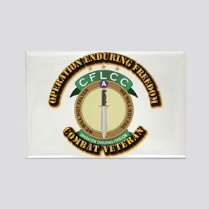 Operation Enduring Freedom Rectangle Magnet