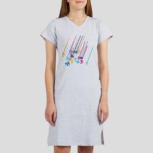 Sword salute in colour Women's Nightshirt