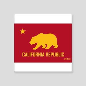 Strk3 California Republic Rectangle Sticker