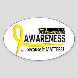 Awareness 2 Endometriosis Sticker (Oval)