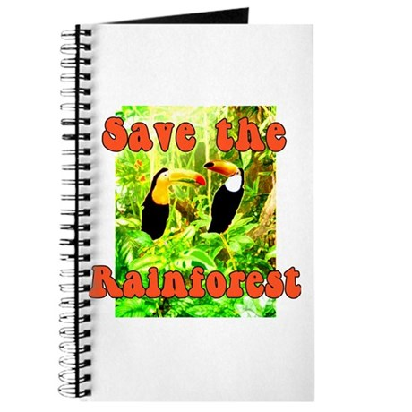 Save the Rain Forest Journal