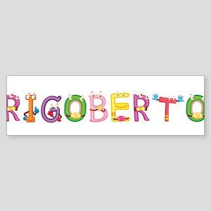 Rigoberto Bumper Sticker