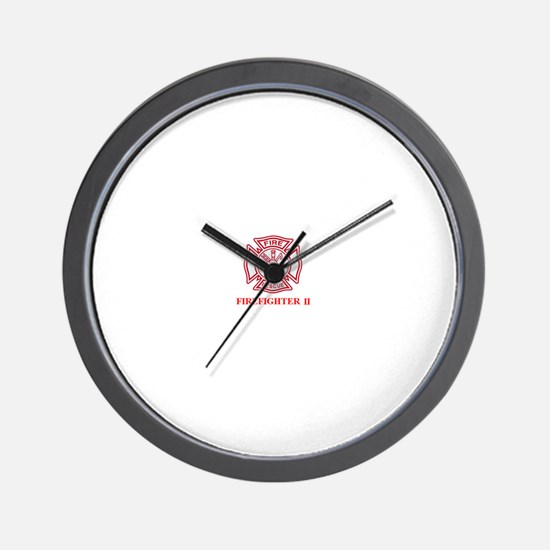 Firefighter II Wall Clock