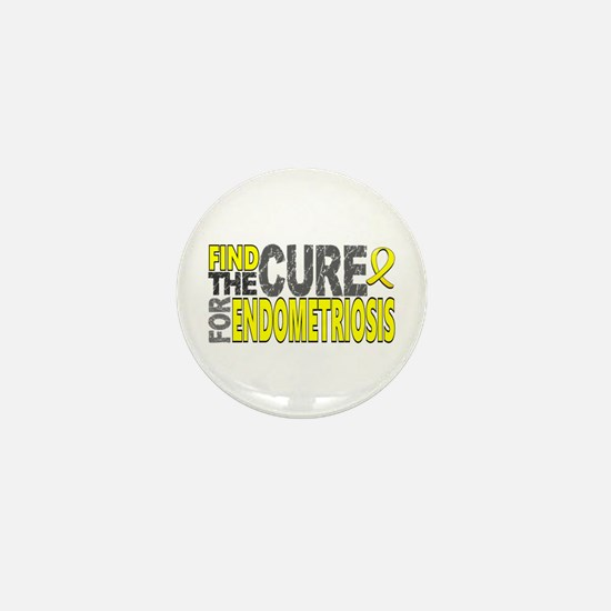 Find the Cure Addison's Mini Button