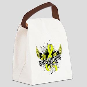 Awareness 16 Endometriosis Canvas Lunch Bag