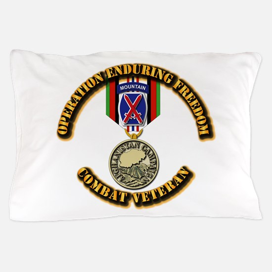 Operation Enduring Freedom - 10th Mtn Pillow Case