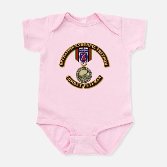 Operation Enduring Freedom - 10th Infant Bodysuit