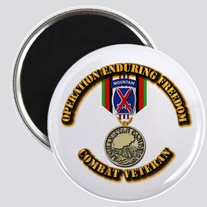 Operation Enduring Freedom - 10th Mtn Div Magnet