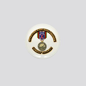 Operation Enduring Freedom - 10th Mtn Mini Button