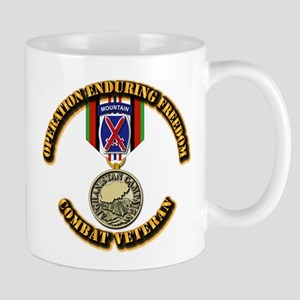Operation Enduring Freedom - 10th Mtn D Mug