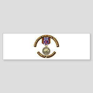 Operation Enduring Freedom - 10th Sticker (Bumper)
