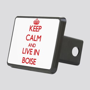 Keep Calm and Live in Boise Hitch Cover