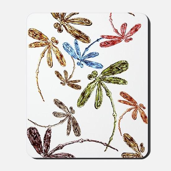 Dragonfly Pop Mousepad