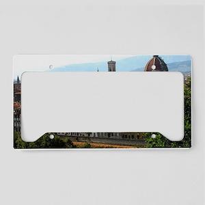 Firenze I License Plate Holder