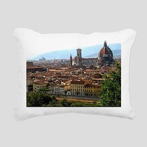 Firenze I Rectangular Canvas Pillow