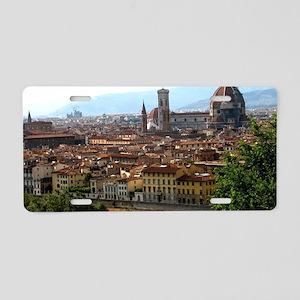 Firenze I Aluminum License Plate