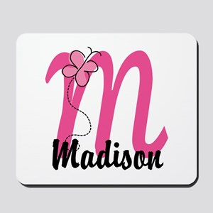 Personalized Monogram Letter M Mousepad