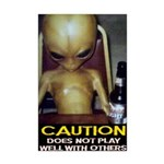 POTER passed out alien dont play well with others