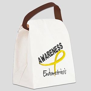 Awareness 3 Endometriosis Canvas Lunch Bag