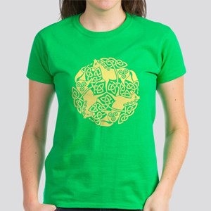 Celtic Irish Horses St Patric Women'S Dark T-Shirt