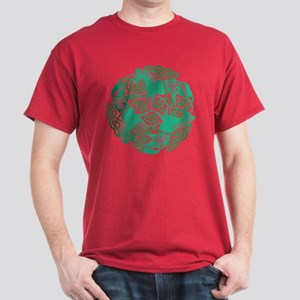 Celtic Irish Horses St Patrick's Day Dark T-Shirt