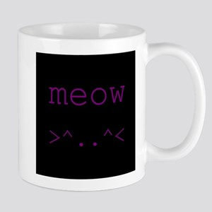 Meow Kitty Face Mugs