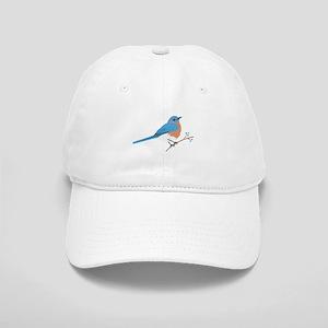 Eastern Bluebird Baseball Cap