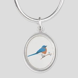 Eastern Bluebird Necklaces