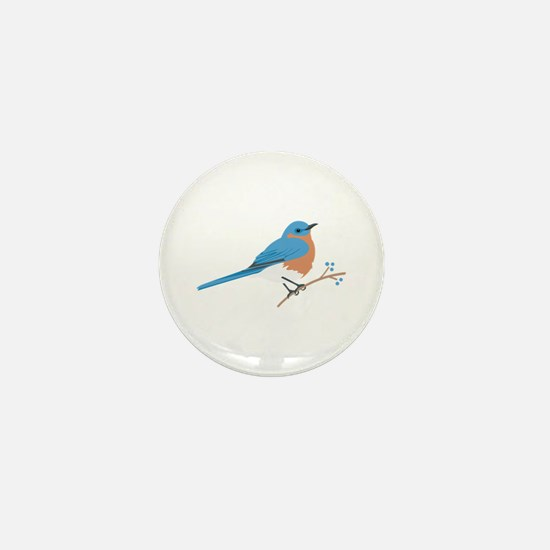 Eastern Bluebird Mini Button